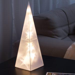 Pirâmide Decorativa   16 LED