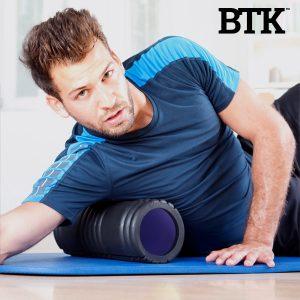 Rolo Para Alongamentos Yoga Roller BTK