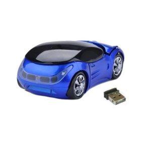Rato Omega | Sem Fios 1200DPI | Carro Azul