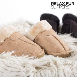 Chinelos Relax Fur | 3 Cores | 6 Tamanhos por Cor