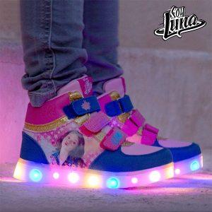 Soy Luna | Sapatilhas Desportivas Com Luz LED