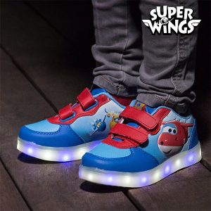 Super Wings | Sapatilhas Desportivas Com Luz LED