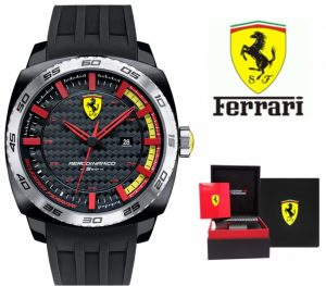 Relógio Ferrari® Scuderia Aerodinamico Black