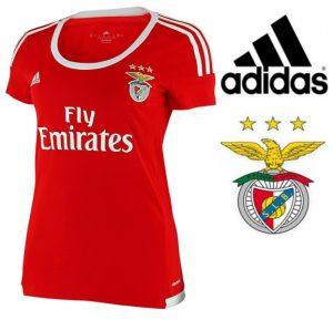 Adidas® T-Shirt Benfica Women´s OFICIAL | Tecnologia Cliamcool®