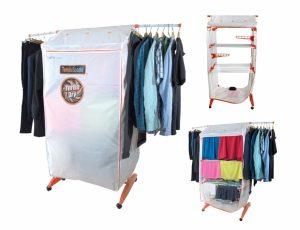 Secador de Roupa Vertical Portátil e Estendal | Seca até 20 Kg de Roupa | TURBO DRY 360º