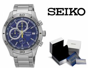 Relógio Seiko Quartz® Cronógrafo | Data !