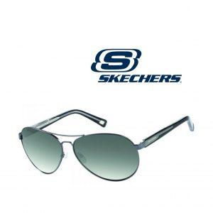 Skechers® Óculos de Sol SK8046 GUNBLK