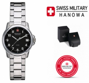 Relógio Swiss Military® Hanowa Ladies Silver Steel