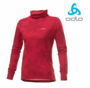 Odlo® Camisola Rosa | Interior Térmico | Com Antibacteriano, Efeito Anti-Odor !