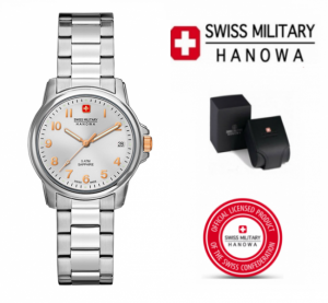 Relógio Swiss Military® Hanowa | Hedef Silver | 10ATM