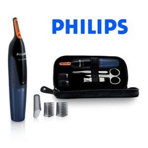 Philips Aparador p/ nariz e Kit de Higiene | NOSETRIMMER Series 5000