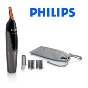 Philips Aparador de Nariz, Orelhas e Sobrancelhas | NOSETRIMMER Series 3000