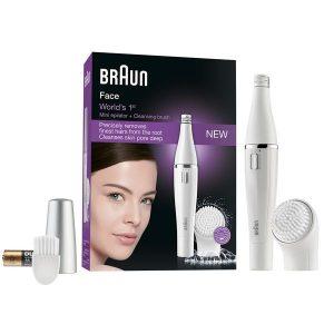 Braun | Depiladora Facial e Escova de Limpeza com Micro-Oscilações