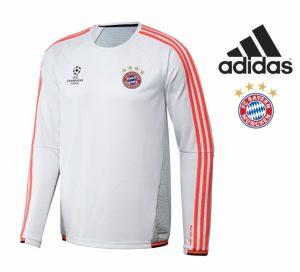 Adidas® Sweatshirt Bayern de Munique | Champions League | Tecnologia Climalite®