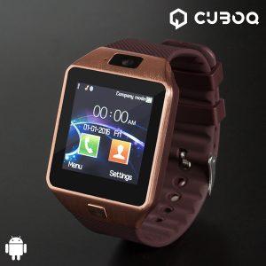 Smartwatch CuboQ Copper | Telefone  | Bluetooth | Acesso Direto ao Facebook | WhatsApp | Twitter !