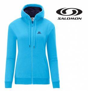 Salomon® Casaco Hoodie Azul | Com Carapuço | Tamanho XS !