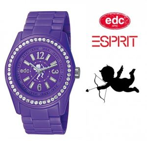 Relógio EDC by Esprit® Cupid | Crazy Purple | 3ATM
