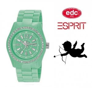 Relógio EDC by Esprit® Cupid | Frosty Green | 3ATM