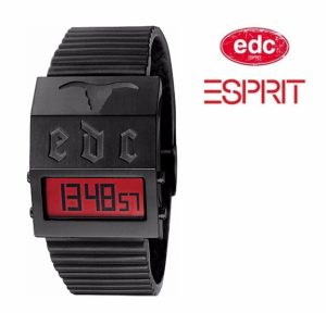 Relógio EDC by Esprit® Cowboy Midnight Dark Black | 3ATM