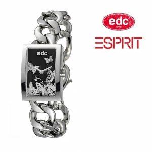 Relógio EDC by Esprit® Wild Paradise Sparkling Silver | 3ATM