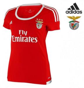 Especial Dia da Mãe | PRODUTO OFICIAL Adidas® T-Shirt Benfica Women´s | Tamanho XXS | XS | Tecnologia Cliamcool®