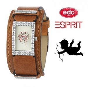 Relógio EDC by Esprit® Iconic Rivet Spacy Brown | 3ATM
