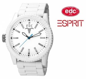 Relógio EDC by Esprit® Military Star White | 3ATM