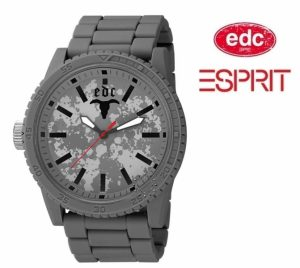 Relógio EDC by Esprit® Military Star Rock Grey | 3ATM