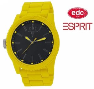 Relógio EDC by Esprit® Military Star Happy Yellow | 3ATM