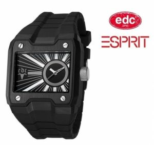 Relógio EDC by Esprit® Gun Powder Midnight Black | 3ATM