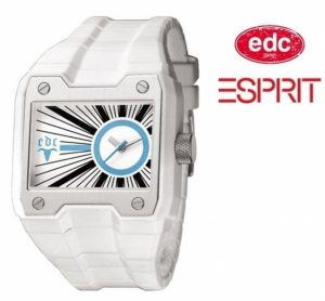 Relógio EDC by Esprit® Gun Powder Pure White | 3ATM