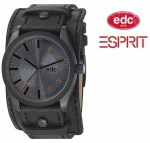 Relógio EDC by Esprit® Chillin Dude Black | 3ATM