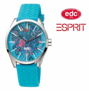 Relógio EDC by Esprit® Blushing Flowers Horizon Blue | 3ATM