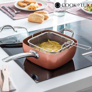 Frigideira Cerâmica com Acessórios Multi·Cook D'Lux (4 peças)