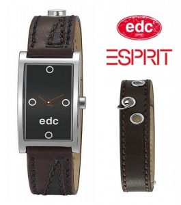 Relógio EDC by Esprit® Double Twist Brown Black | 3ATM