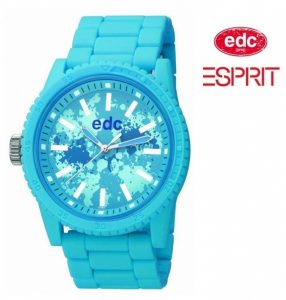 Relógio EDC by Esprit® Military Starlet Glowing Blue | 3ATM