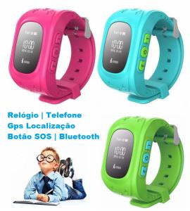 KIDS Relógio Inteligente | Telefone | GPS Localização | Botão SOS | Bluetooth | Proteja as suas Crianças!
