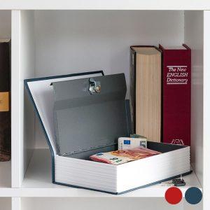 Cofre Metálico English Dictionary | 2 Fechaduras e 2 Chaves | Disponível em 2 cores !