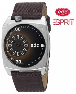 Relógio EDC by Esprit® Edgy Player Tabacco Brown | 3ATM