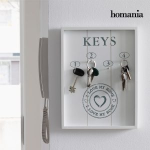 Quadro Organizador de Chaves I Love My Home by Homania !