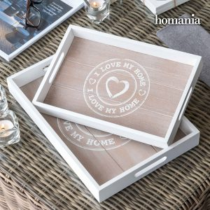 Pack 2 Bandejas I Love My Home by Homania !