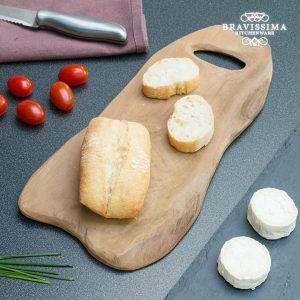 Tábua de Cozinha Rústica Madeira de Teca | Village Bravissima Kitchen