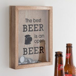 Quadro para Tampas The Best Beer Wagon Trend!