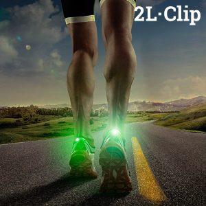 Pack 2 LED de Segurança Para Sapatilhas 2L-Clip