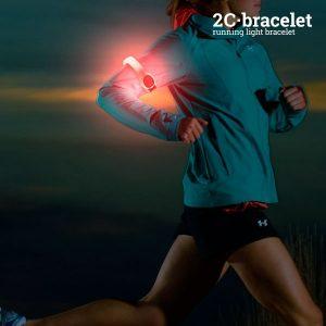 Braçadeira Desportiva LED De Segurança 2C