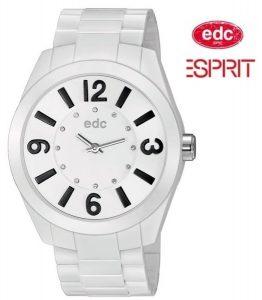 Relógio EDC by Esprit® Rising Sun Disco White Black | 3ATM