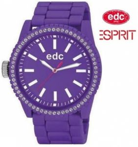 Relógio EDC by Esprit® Stone Starlet Crazy Purple | 3ATM