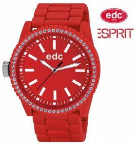 Relógio EDC by Esprit® Military Stone Starlet Flashy Red | 3ATM
