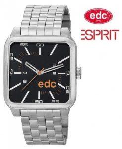 Relógio EDC by Esprit® Silver Black | 3ATM