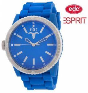 Relógio EDC by Esprit® Rubber Star Horizon Blue | 3ATM